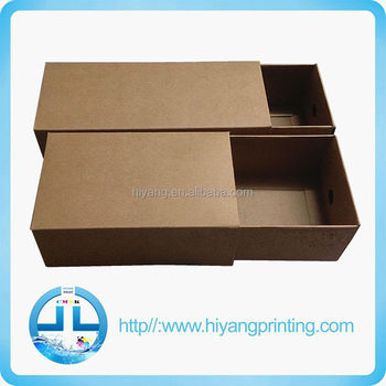 China supplier kraft paper box/packaging paper box /paper drawer box