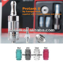 100% colored glass mini Protank 2 Clearomizer,large capacity Pyrex Tube protank 2 Atomizer