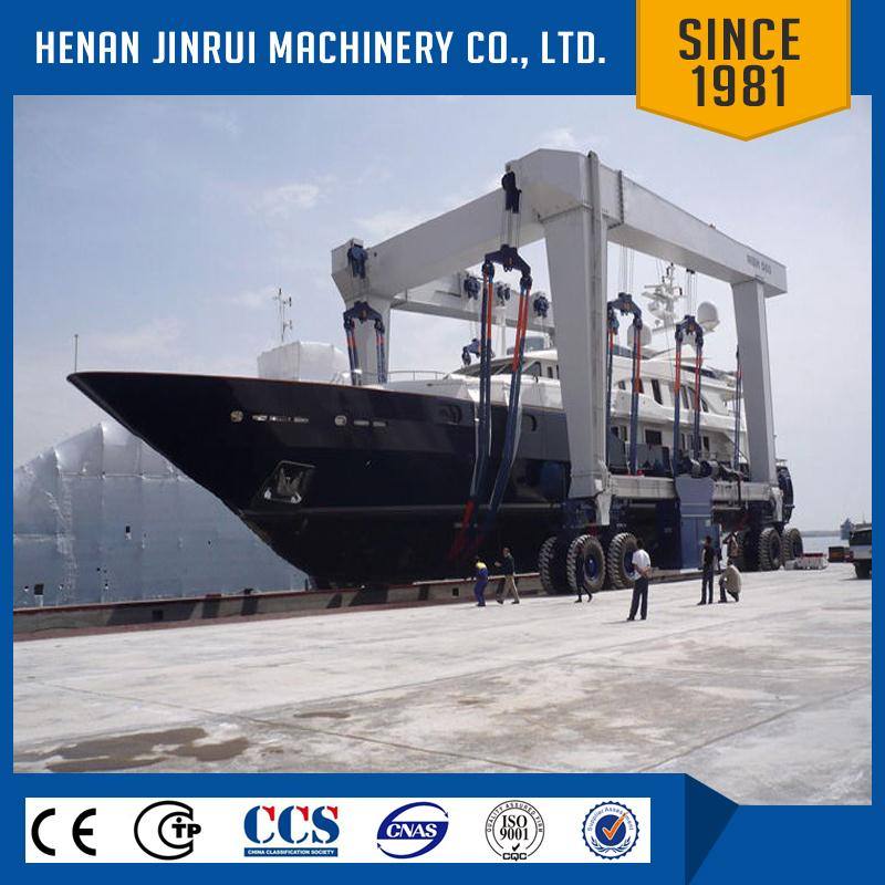 Boat Lift 300T Mobile Travelling Yacht Gantry Lifting Crane