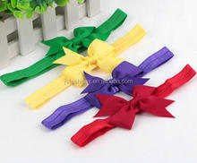 New Baby Hair Accessories Baby Hair Band Girls Big Bow Headwrap Lovely Bowknot Children <strong>Headband</strong> Cotton Bow <strong>Headband</strong>