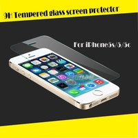 Good price tempered glass for iphone 5 , for iphone 5 tempered glass screen protector accept paypal