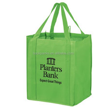 Non-Woven Wine and Grocery Combo Tote Bag with Insert