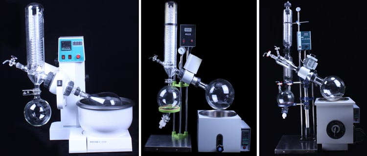 Hot Sale Multi-function 10L-50L Industrial Rotary Evaporator from China