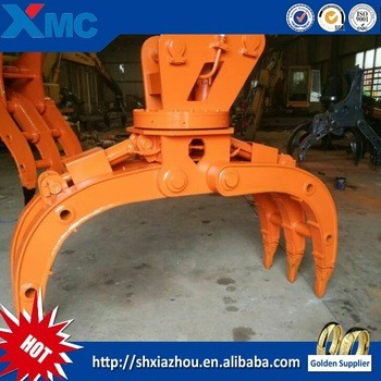 OEM high quality excavator spare parts grab bucket