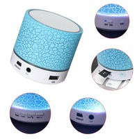Portable Mini with LED Light Wireless mushroom Bluetooth Speaker support TF card for samphone