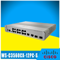 cisco 3560cx gigabit poe 12 port switch WS-C3560CX-12PC-S