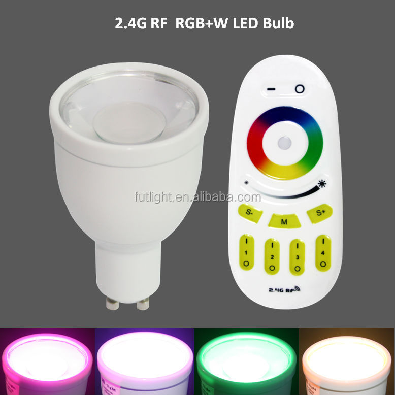 Color changing led night light gu10 led bulbs,Wifi Iphone Controlled gu10 Led Bulb,Low power consumption gu10 led bulbs shenzhen