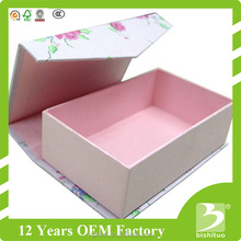 2017 Fashion Durable Reusable Storage Paper Gift Box with Magnet Hardcover Gift Box Rectangle