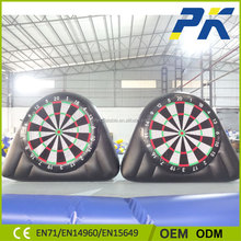 PK Most Popular Dart Ball Inflatable Soccer Darts Game With Balls For Outdoor Exercise