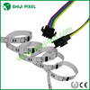 ip65 outdoor lighting SMD 5050 RGB ws2801 pixel led strip