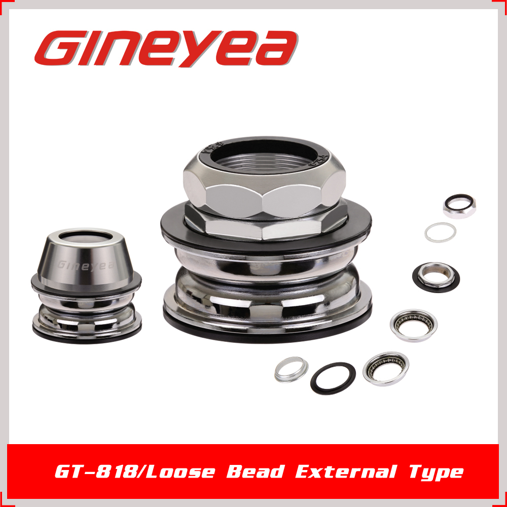 Gineyea GH-818 Bike Parts Outside Cups Threaded Bicycle Headparts for Road
