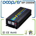 Populace new products off grid tie pure sine wave inverter 2000w