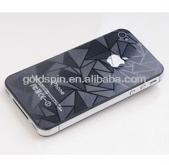 Perfect Fit For Iphone4 3D Screen Protector with Special Design, Fashionable and Functional Protective Foils