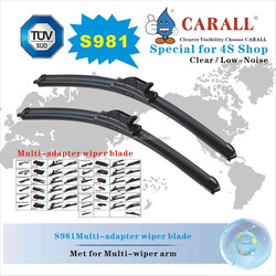 S981 CARALL Multifunctional Windshield Wiper Blades Double windshield wiper blade Windscreen wiper blade Automobile Motorcycles