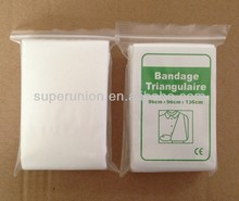 first aid non woven Compressed triangular bandages