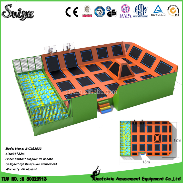 Wholesale Hot China Tumble Track Competition Trampoline Price