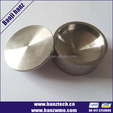 China baoji supplier tungsten crucible price