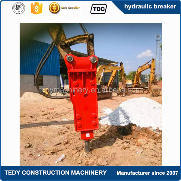 1.2-3 tons sany mini excavator used attachments hydraulic rock breaker for excavator sale