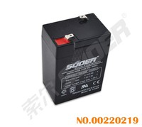 Suoer 4.5AH 6V Solar Energy Storage Battery 6V Solar Power Accumulator