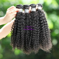 Ideal hair hot sales and thick at bottom kinky curly virgin mongolian hair