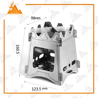 Camping Equipment Wood Burning Outdoor Wood Stove Survival Wood Pellet Stove