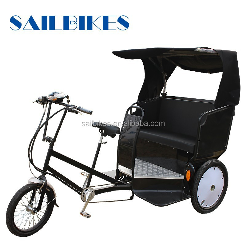 china supplied electric tricycle rickshaw for rental business