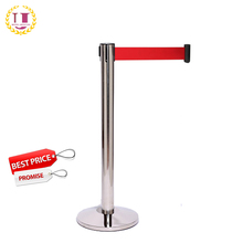 Stainless Steel Q Manager Crowd Control Barrier