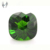 millennium cut green synthetic glass gemstones