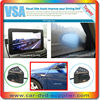 Unique business ideas hd car dvr rearview mirror wireless backup camera blind spot assist system