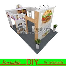 Portable eco-friendly variety reconfiguration exhibition booth construction for tradeshow