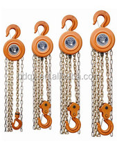 HSZ round hand operated chain lift pull pulley lifting hoist manual blocks tool high quality and cheap price blcok