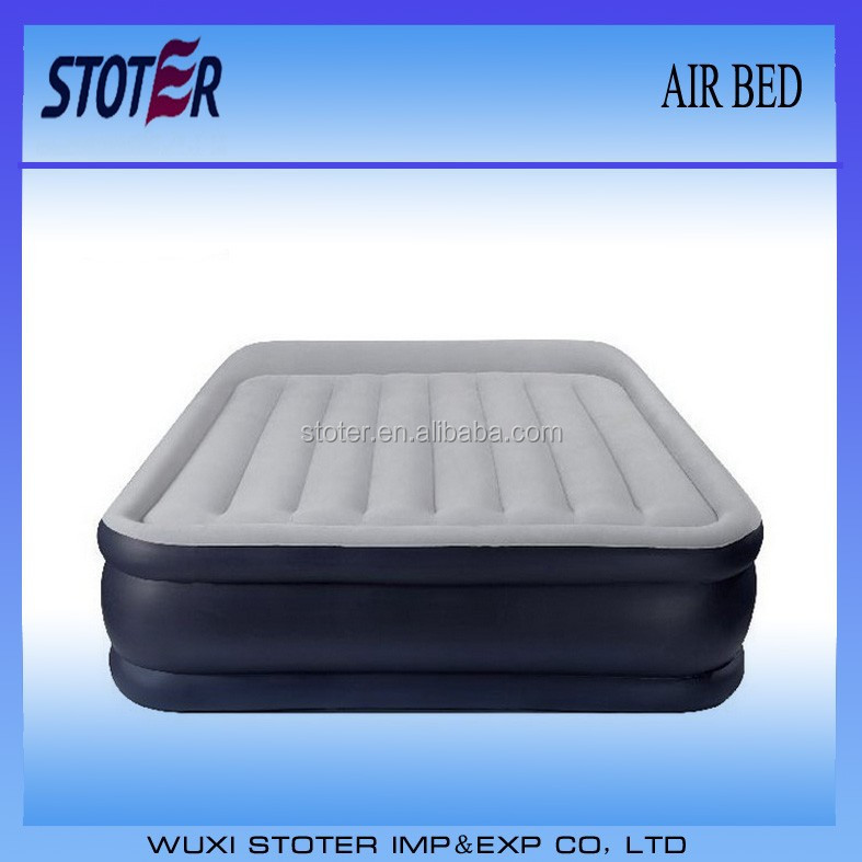 queen air bed with built-in fully automatic electric pump