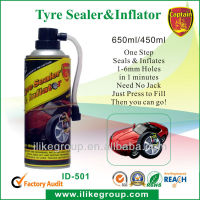 Aerosol Tire Inflator (Just Connect , Inflate,and Go !)!
