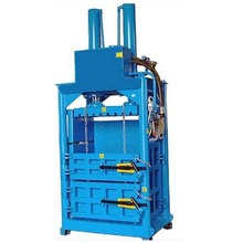 Hydraulic baling press used for vertical type plastic ,wool ,paper baler