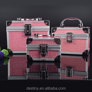 Wholesale Multipurpose Women Aluminum Makeup Case