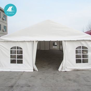 JQA1320P professional steel frame 4*8 outdoor wedding and party tents