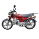 Newly Alpha Gas Super Power Chinese Cheap Moped 70cc 75cc Motorcycle for Motos