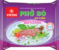 Pho Beef Flavour 65g Instant Noodles