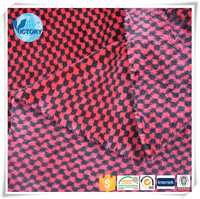 well-done Knit Cationic Flannel Fleece Fabric for clothes