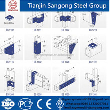 Mild steel standard metal C channel steel channel sizes