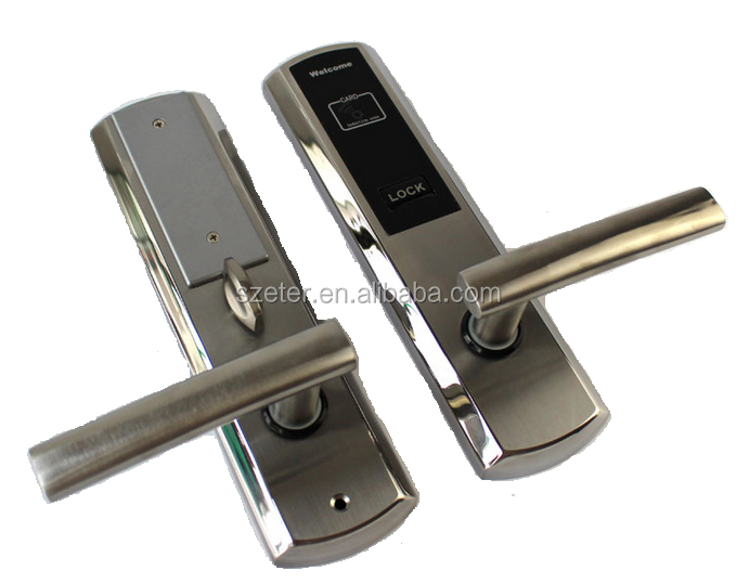 Promotion 13.56mhz RF Hotel Door Locks for Start Hotel Managment System ET811RF