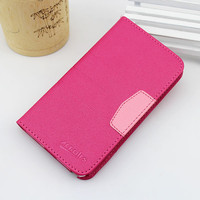 Hot new products flip leather case for gionee e6