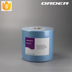45% Polyester 55% Cellulose Hydroentangled Spunlace Nonwoven Wipes