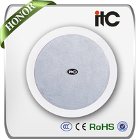 ITC T-205P 20W 4 inch Flush Mount Wholesale PA Speaker Ceiling