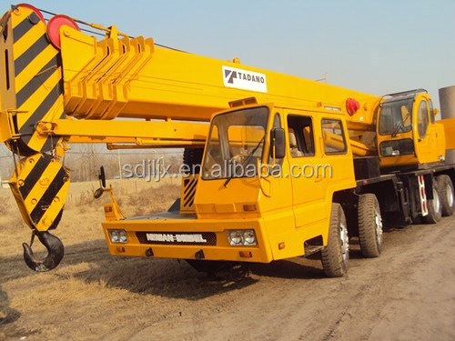 50 ton used all terrain crane GT500E/used 50ton crane truck tadano for sale