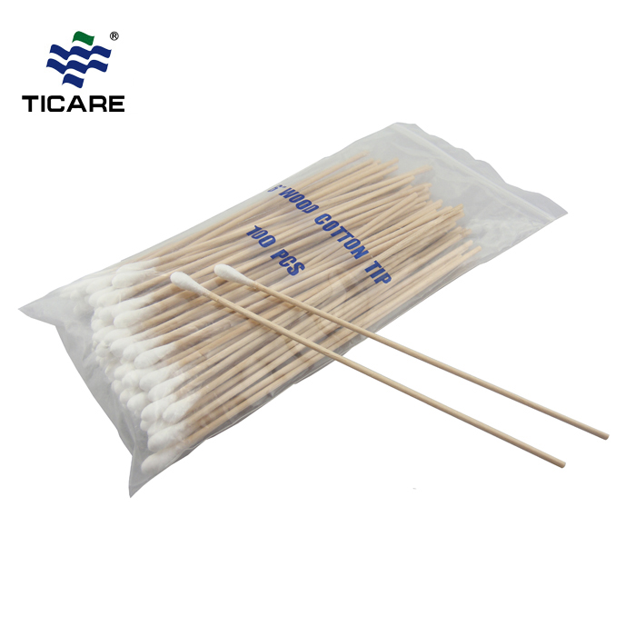 Plastics Cotton Tipped Applicator Cotton Swabs For Medical