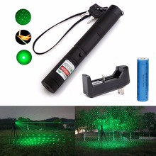 532nm High Power Green Laser Pointer 1000mw Laser Pointer Pen Powerful Burning Match Adjustable