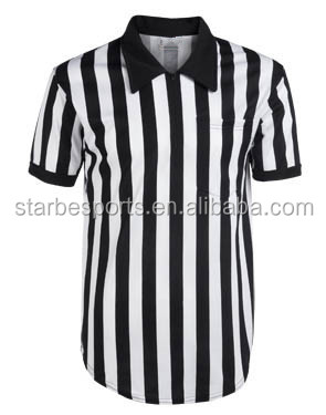 2016 new design referee shirt/sublimated Basketball referee shirt/sports referee shirt wholesale