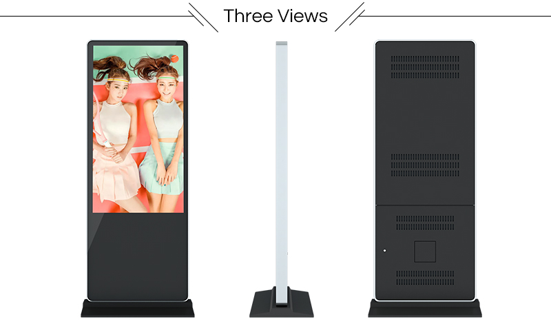 Network 43 inch full hd lcd Advertising Player,digital signage screen