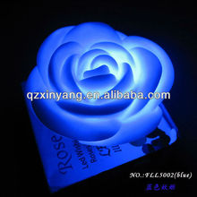 Pretty Bule Color Rose Flower Wedding Candle Wedding Stage Decores